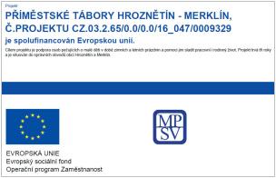 Dotační prostředky z EU a z MAS KHZ o.p.s.