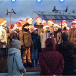 Rozsvěcení vánočního stromu v Hroznětíně