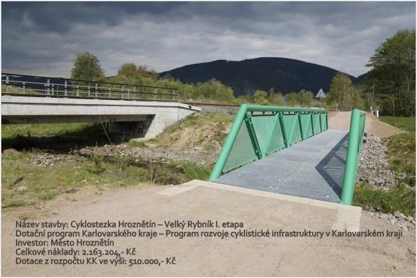 Cyklostezka Hroznětín – Velký Rybník I. etapa