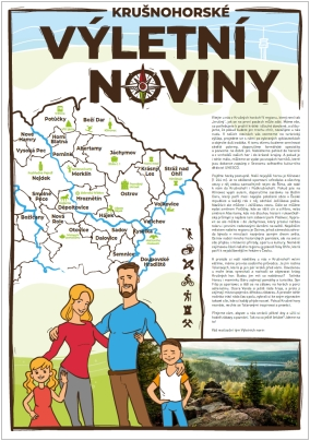 Výletní noviny – zajímavá místa